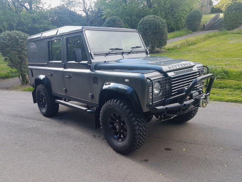 2014 64 PLATE LAND ROVER DEFENDER TDCI COUNTY UTILITY XS For Sale (picture 1 of 6)