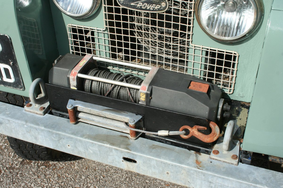 1966 Land Rover Series 2a 88 For Sale (picture 2 of 6)