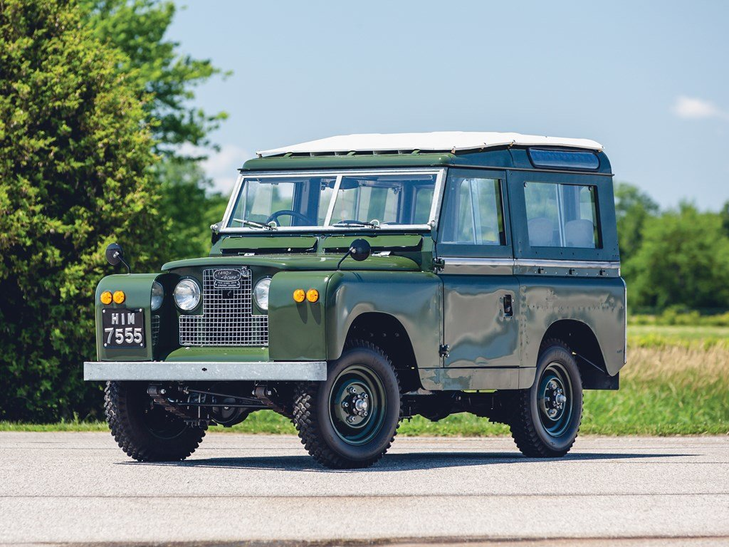 1966 Land Rover Series IIA 88  For Sale by Auction (picture 1 of 6)