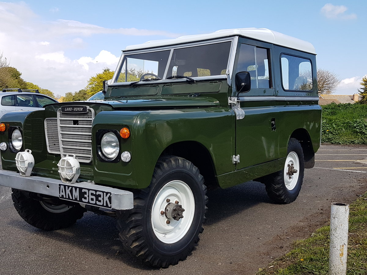 Series 2A Rebuild Fully Documented  For Sale (picture 1 of 6)