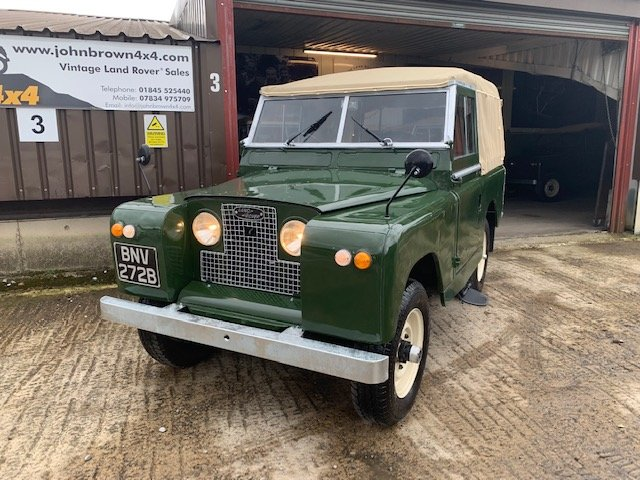 1964 Land Rover® Series 2a RESERVED SOLD (picture 1 of 6)