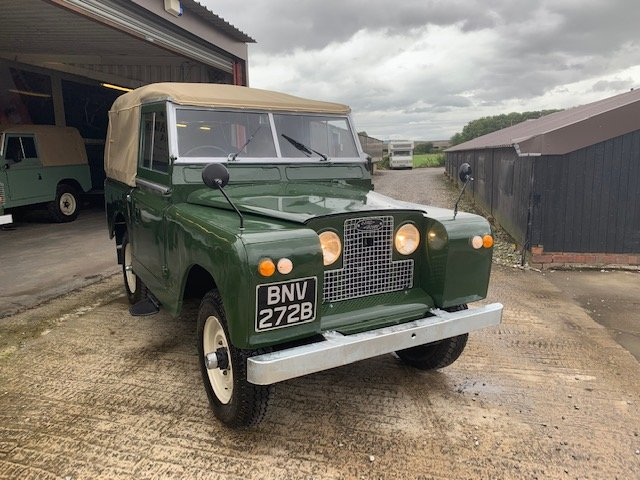 1964 Land Rover® Series 2a RESERVED SOLD (picture 2 of 6)