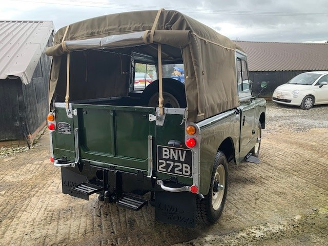 1964 Land Rover® Series 2a RESERVED SOLD (picture 4 of 6)