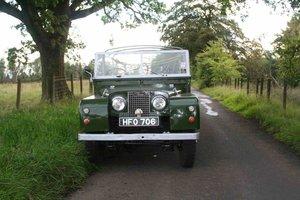 "1958 Series 1 Land Rover 88"".  2.25 Petrol"