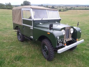 "1954 Land rover series 1, 86"" galvanized chassis For Sale"