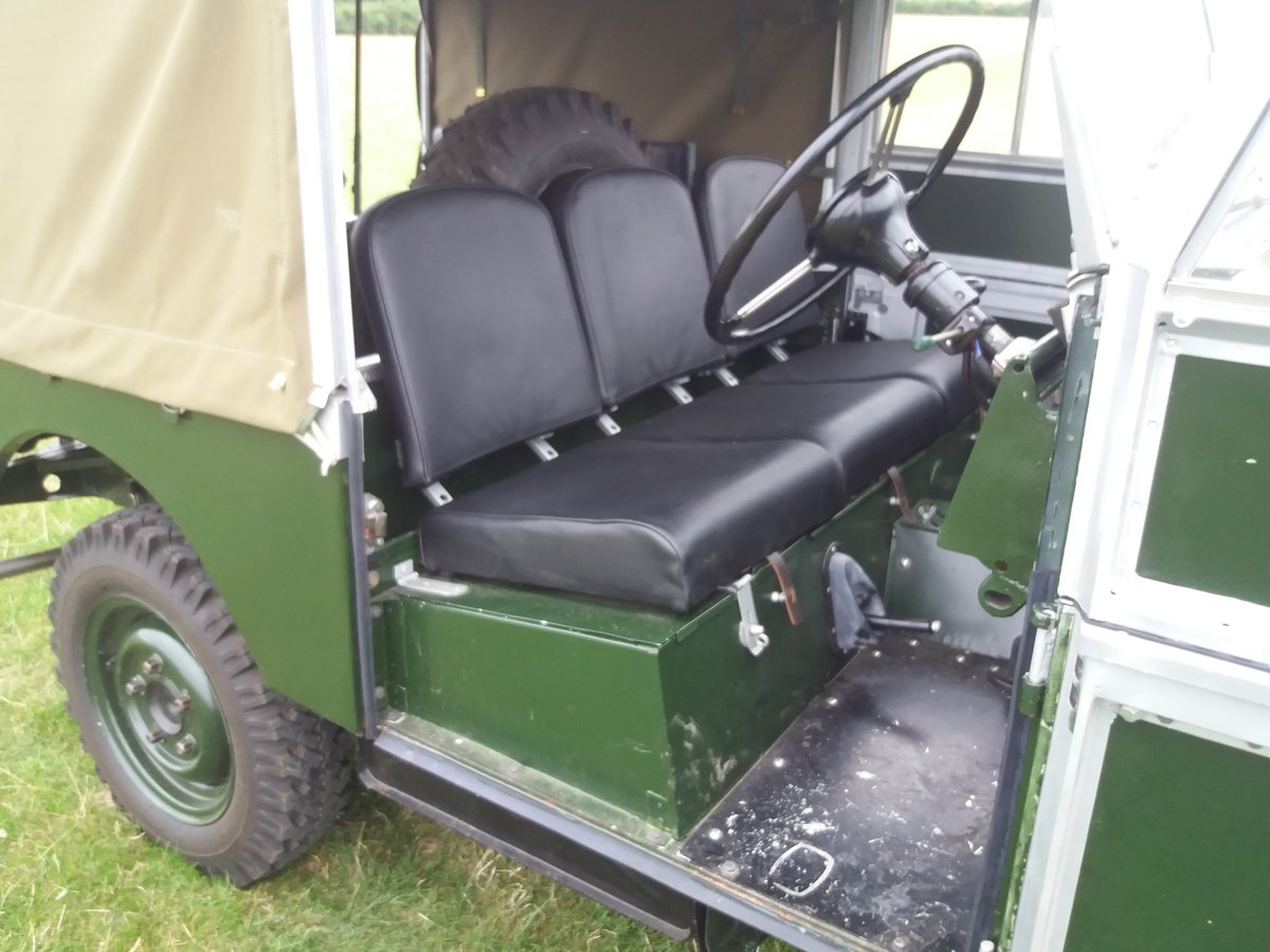 1954 Land rover series 1, 86