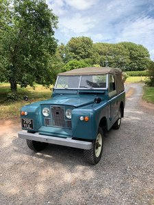 1963 Land Rover series IIa For Sale