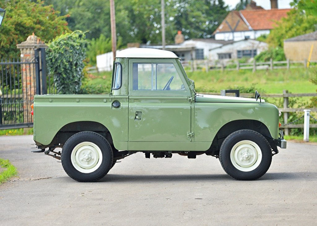 1963 Land Rover Series IIA SOLD by Auction (picture 1 of 6)