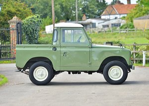 1963 Land Rover Series IIA For Sale by Auction