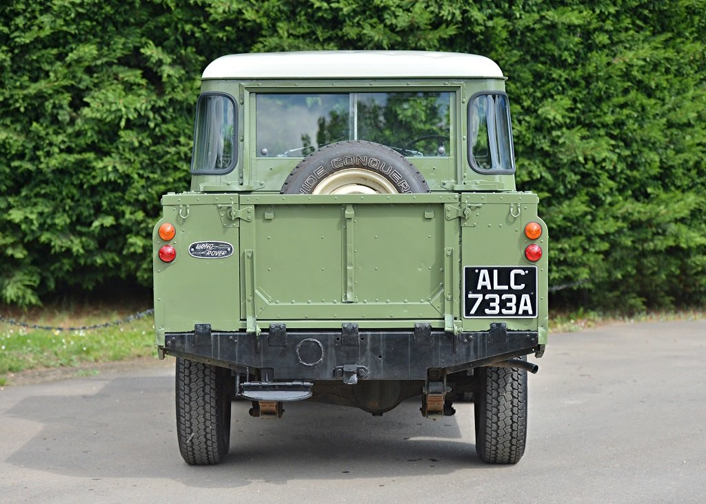 1963 Land Rover Series IIA SOLD by Auction (picture 2 of 6)
