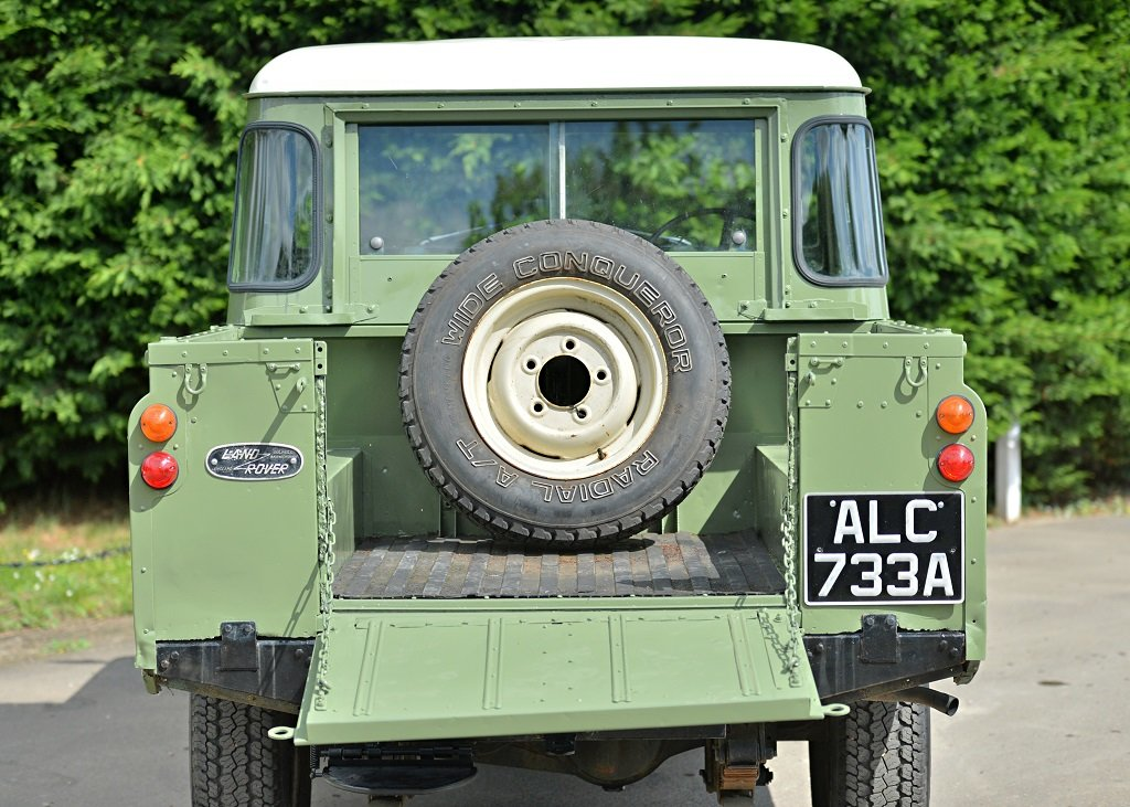 1963 Land Rover Series IIA SOLD by Auction (picture 3 of 6)