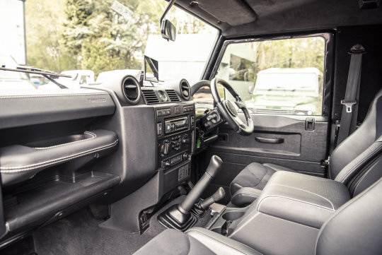 2013 Land Rover Defender 90 Hard Top - TWISTED CONVERSION For Sale (picture 2 of 5)