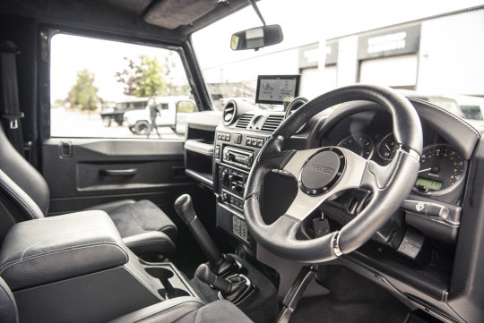 2013 Land Rover Defender 90 Hard Top - TWISTED CONVERSION For Sale (picture 4 of 5)