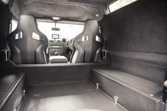 2013 Land Rover Defender 90 Hard Top - TWISTED CONVERSION For Sale (picture 5 of 5)