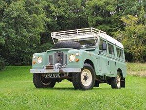 Land Rover Series 2A Dormobile