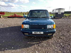 1998 Range Rover Vogue 50 1 of 50 For Sale