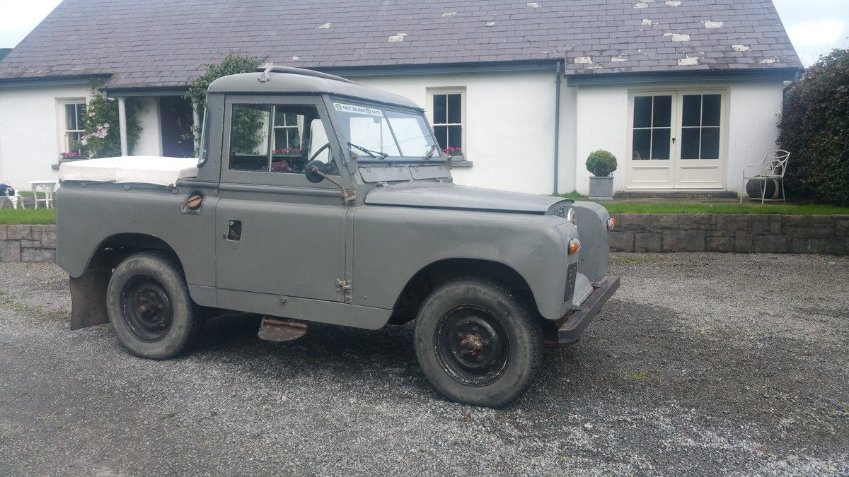 1958 Land Rover S2  SWB For Sale (picture 1 of 6)