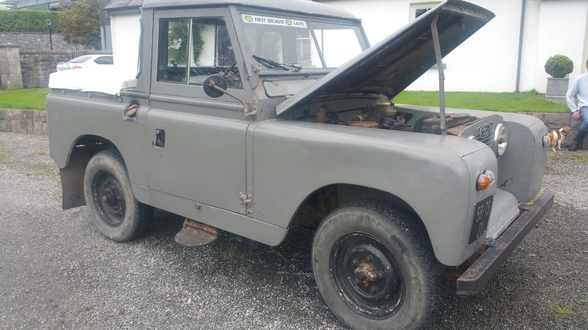 1958 Land Rover S2  SWB For Sale (picture 3 of 6)
