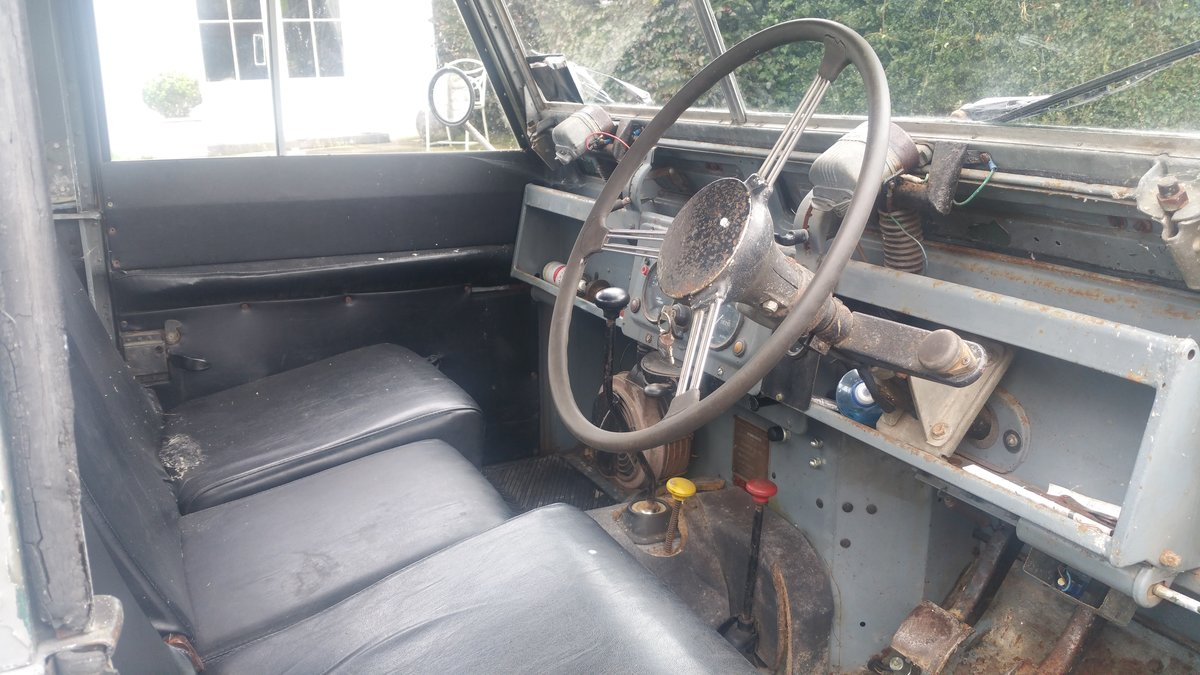 1958 Land Rover S2  SWB For Sale (picture 4 of 6)