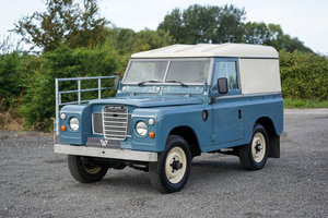 "1983 Land Rover Series 3 88"" Hardtop 30,000 Miles from New For Sale"