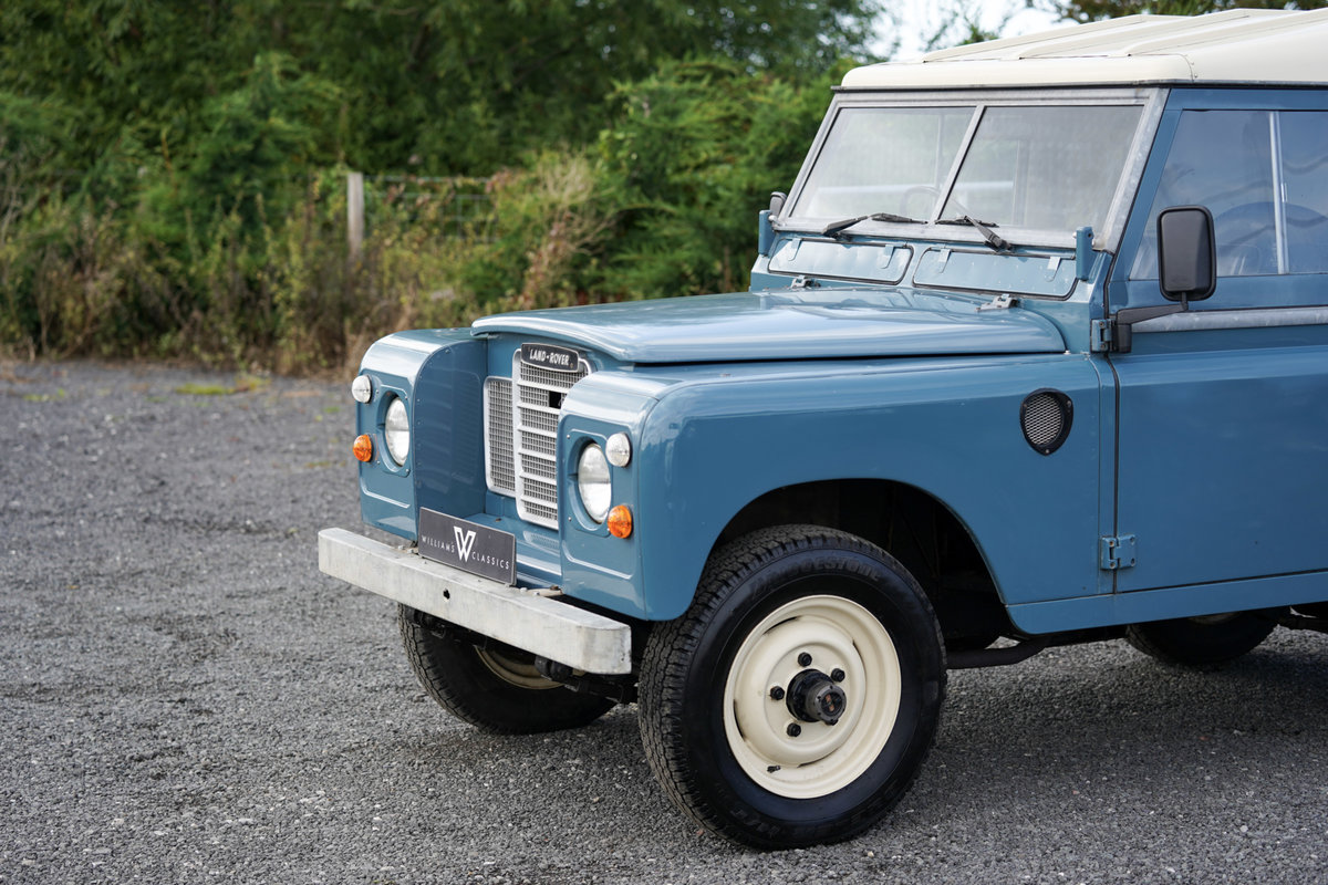 """1983 Land Rover Series 3 88"""" Hardtop 30,000 Miles from New For Sale (picture 3 of 6)"""