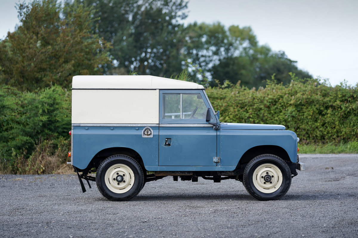 """1983 Land Rover Series 3 88"""" Hardtop 30,000 Miles from New For Sale (picture 4 of 6)"""