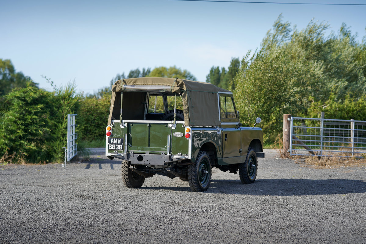 """Land Rover Series 2a 88"""" Softop 1964 Nut & Bolt Restoration  For Sale (picture 3 of 6)"""