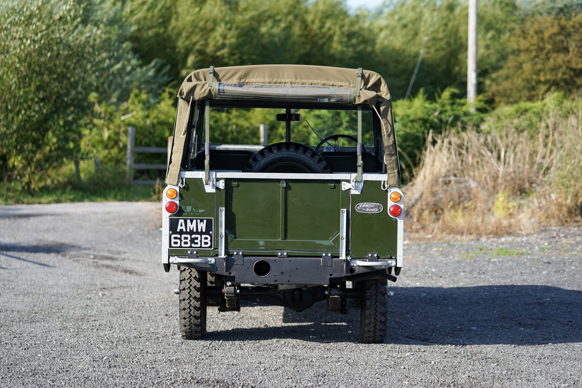 """Land Rover Series 2a 88"""" Softop 1964 Nut & Bolt Restoration  For Sale (picture 4 of 6)"""