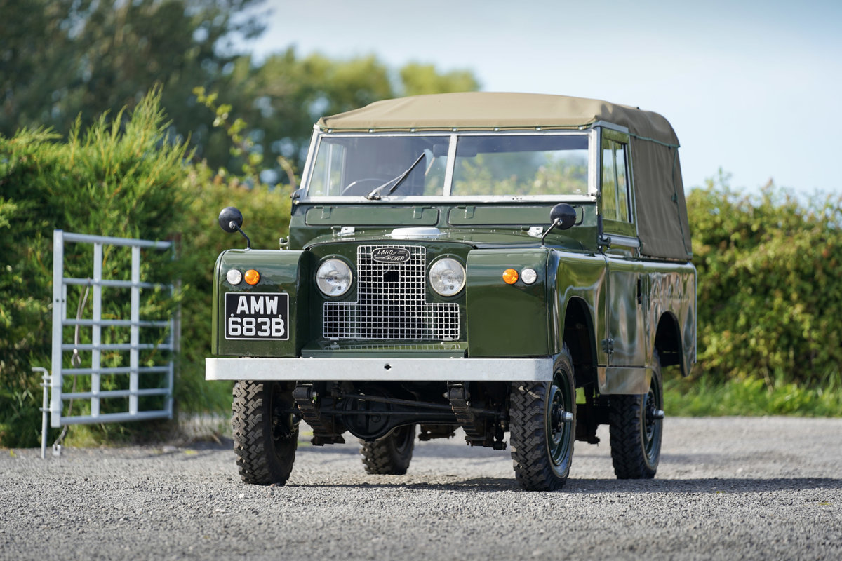 """Land Rover Series 2a 88"""" Softop 1964 Nut & Bolt Restoration  For Sale (picture 5 of 6)"""