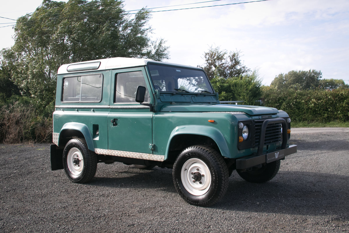 Land Rover 90 Defender Station Wagon 1985 Original Condition For Sale (picture 4 of 6)
