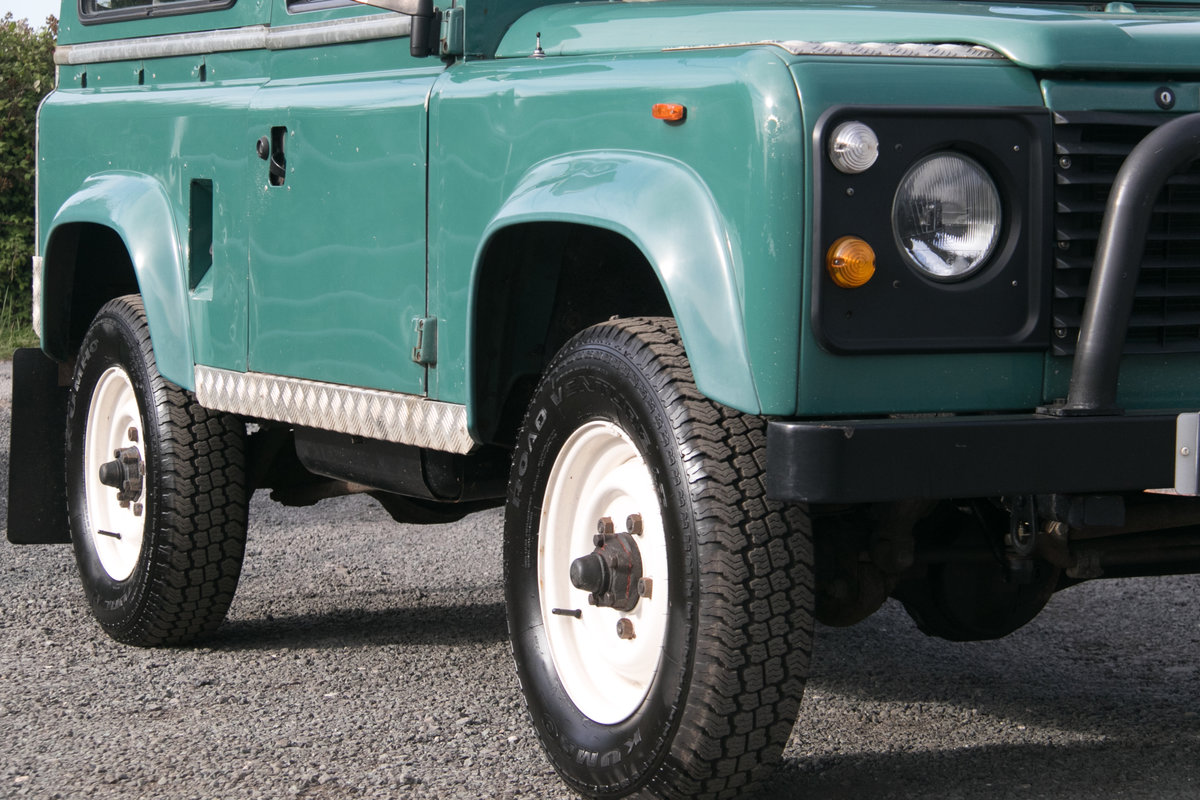 Land Rover 90 Defender Station Wagon 1985 Original Condition For Sale (picture 5 of 6)