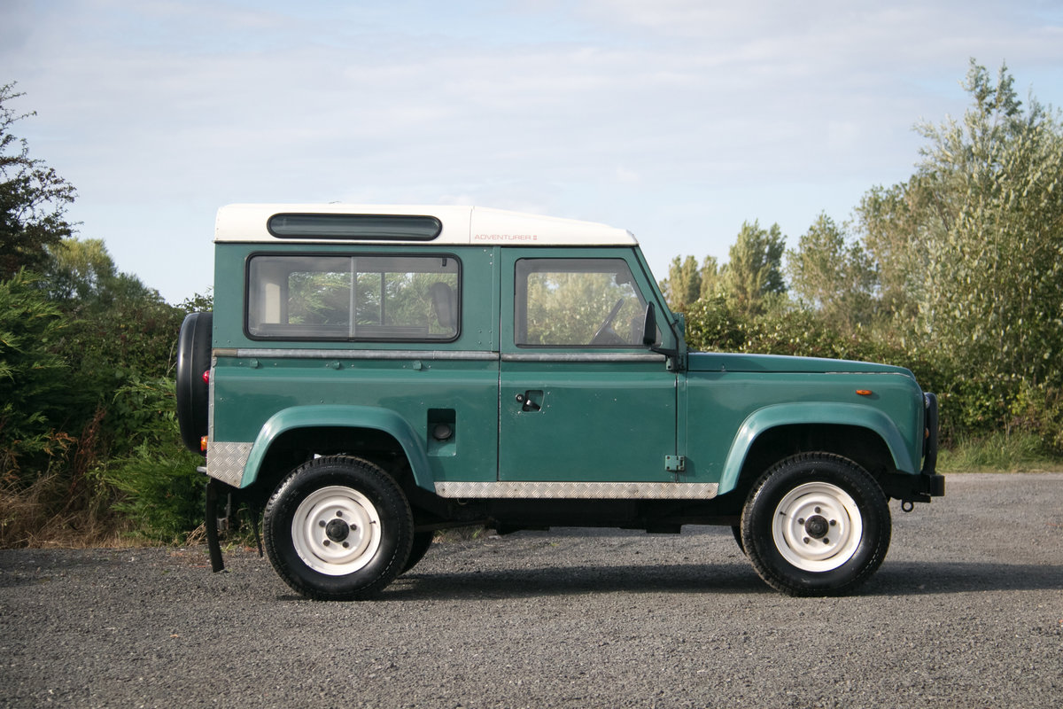 Land Rover 90 Defender Station Wagon 1985 Original Condition For Sale (picture 6 of 6)