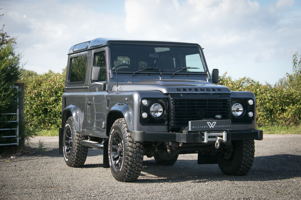 2014 Land Rover Defender 90 TDCI XS Station Wagon 1 Owner 20,000  For Sale (picture 1 of 6)
