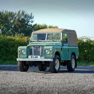 "1975 Land Rover Series 3 88"" Galvanised Chassis & 300 Tdi Convers SOLD"