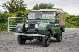 "1953 Land Rover Series 1 80"" Ken Wheelwright Restoration"