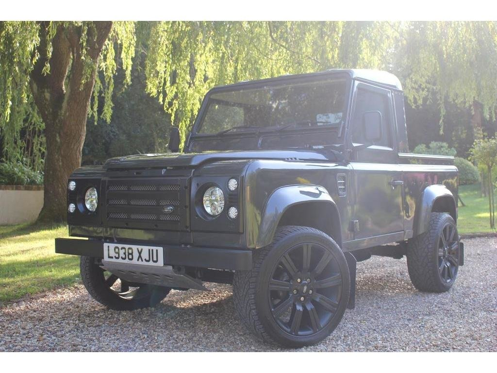 1993 Land Rover Defender 90 2.5 TDi Pick-Up 2dr AMAZING CONVERSIO For Sale (picture 1 of 1)