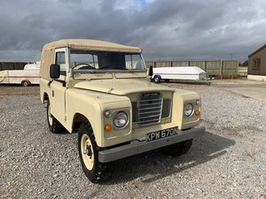 1974 Land Rover® Series 3 RESERVED