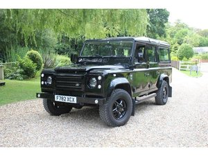 1989 Land Rover 110 2.5 TD County Station Wagon GREAT SPEC, FACEL For Sale