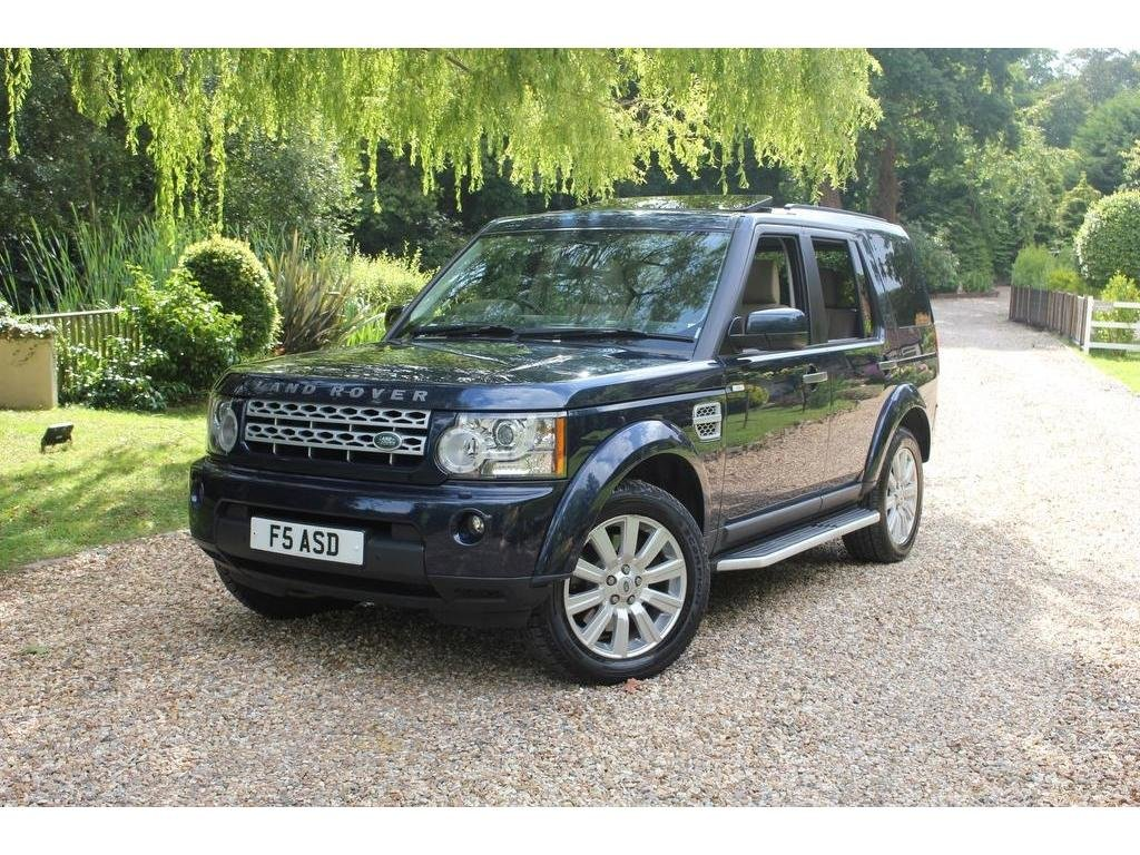2012 Land Rover Discovery 4 3.0 SD V6 HSE 5dr GREAT VALUE, TOP SP For Sale (picture 1 of 1)