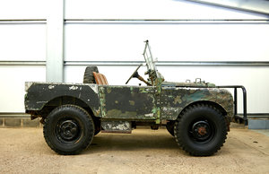 "1950 Land Rover S1 80"" for restoration - Lovely  For Sale"