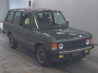 RANGE ROVER CLASSIC VOUGE SE 1991 - RECENT JAPANESE IMPORT  For Sale (picture 1 of 6)
