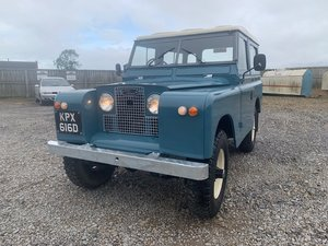 1966 Land Rover® Series 2a *Galvanised Chassis Station Wagon* For Sale