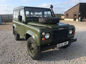 1986 Land Rover 90 ® in Drab Olive (DWP) For Sale
