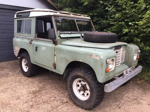1981 Land Rover Series 3 Station Wagon with Safari Roof For Sale
