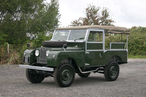 "1955 Land Rover Series 1 86"" Nut & Bolt Restoration"