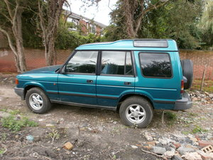 1996 Land Rover Discovery 300 tdi Manual