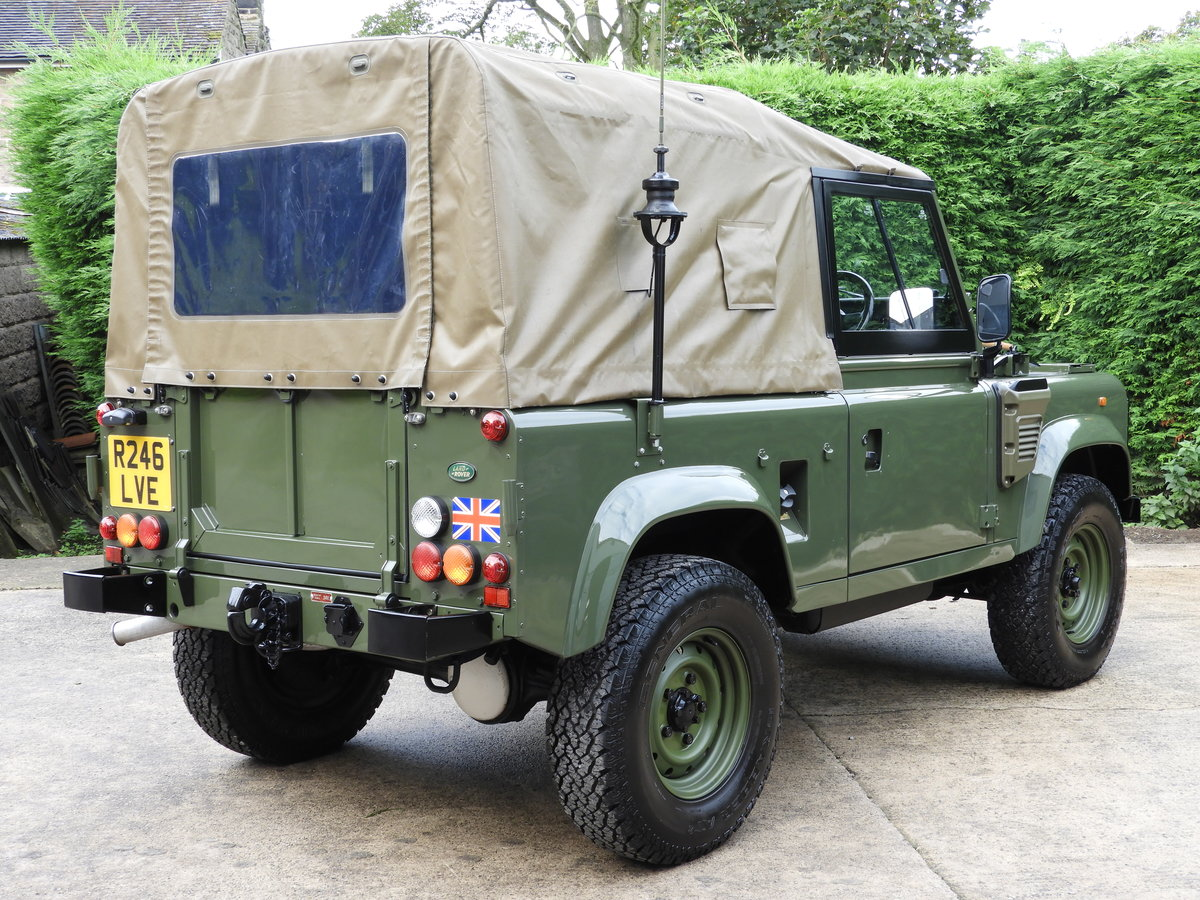 1998 LAND ROVER DEFENDER 90 300TDI EX MOD RARE XD-WOLF!! For Sale (picture 3 of 6)