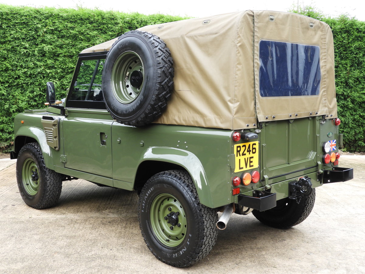 1998 LAND ROVER DEFENDER 90 300TDI EX MOD RARE XD-WOLF!! For Sale (picture 4 of 6)
