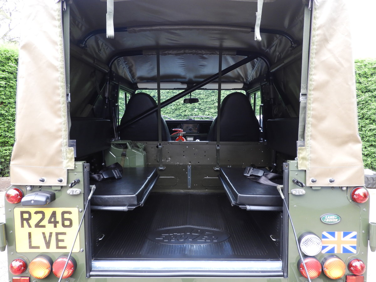 1998 LAND ROVER DEFENDER 90 300TDI EX MOD RARE XD-WOLF!! For Sale (picture 5 of 6)
