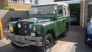 1966 Land Rover Series 2a